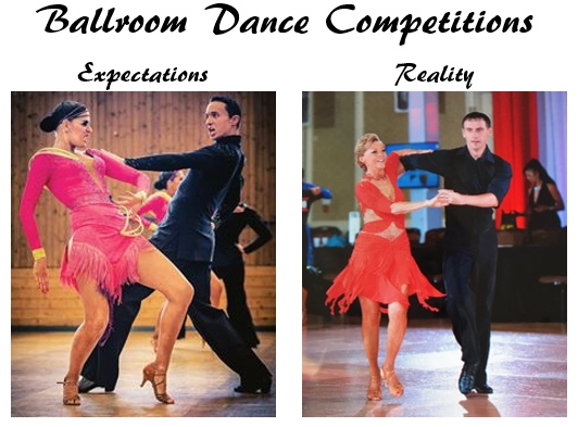 First Competition? Don't Sweat it! Here's what to expect…
