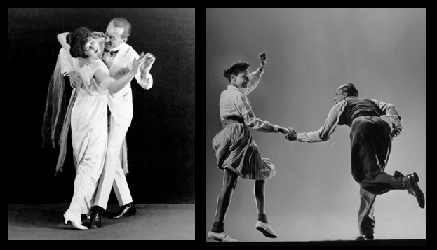 How these American born dances impacted the ballroom world!