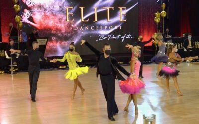 "Back on the Competition Floor!  How the ballroom dance world is reemerging in the ""new normal"""