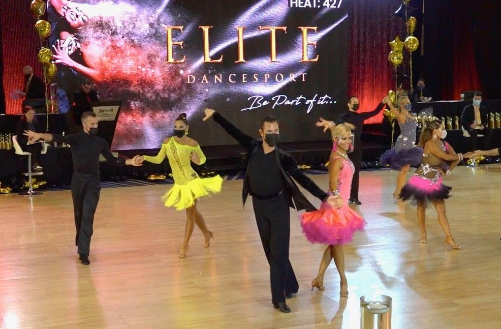 """Back on the Competition Floor!  How the ballroom dance world is reemerging in the """"new normal"""""""