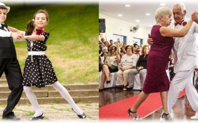 Young or old…It's NEVER too late to start dancing!