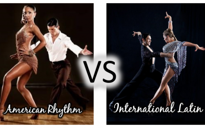 Wait…there are TWO types of ballroom dancing?  Part 1 on how American and International style dancing are WAY more different than you think.